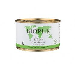Biopur Reis & Karotten (vegan)