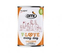 AMI Dog V-Love ORANGE